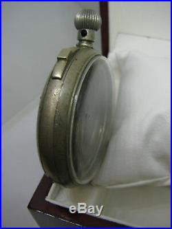 Rare Vintage Leonidas Pocket Watch Timer or Minute Repeater Case Only Swiss