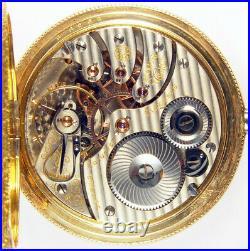 Rockford Grade 540 21 Jewel 16s Scarce Hunting Case Railroad Pocket Watch