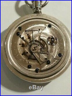 Rockford RARE 18S. (1883) private label, J. Karr Washington, DC. 11 jewels case