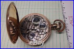 Rolex 1940's cal 540. Star Dennison case 16 size pocket watch