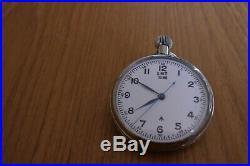 Royal Navy Hs3 Deck Watch Emt Tissot In Original Case