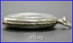 Running Elgin 345 Model 3 Class 114 17J 12S 14k Gold Filled Case Pocket Watch