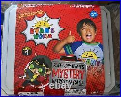 Ryan's World Super Spy Mystery Mission Case Secret Agent Set New Sealed In Hand