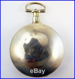 Sam Joseph Liverpool Verge Fusee Unusual Demi Hunting Case Ca. 1800 Pocket Watch