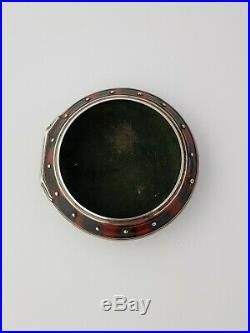 Silver and horn pocket watch verge fusee pair case outer case only ottoman