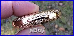 Stunning 1902 17 Jewel 16s Illinois Getty G/F Buck Hunter Case Pocket Watch
