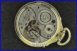 Stunning Vintage 16s Illinois 21j Bunn Sp 60 Hr Dial Two Tone Green + White Case