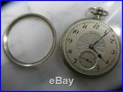 U. S. Antique Hamilton Pocket Watch 17 jewels, Engraved Gold Filled case, running