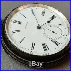 Ugust Ericsson pocket detent chronometer original Borgel case1894 Ulysse Nardin