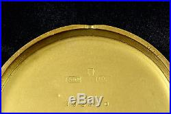 Unique PATEK PHILIPPE chronometer 18k gold enamel case Art Deco