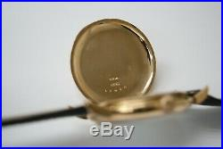 VACHERON & CONSTANTIN 45mm 14K YELLOW GOLD ORIGINAL POCKET WATCH CASE CONVERTED