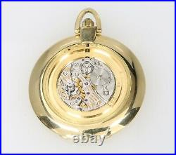Vacheron Constantin 7402 Engraved S 18k Gold Thin Hunting Case Pocketwatch