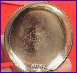 Vintage 18 Size Eagle Mark CIVIL War American Waltham Coin Pocket Watch Case