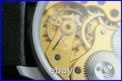 Vintage 1912`s IWC Pocket Swiss movement in New wrist Military Case PILOT A-DIAL