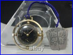 Vintage 1948-50's SEIKO mechanical pocket watch New 10B Rare case