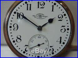 Vintage 21j Waltham BALL OFFICIAL RAILROAD STANDARD Pocket Watch with BALL CASE