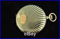Vintage 49.5mm Swiss Remontoir. 800 Silver Niello Hunting Case Pocket Watch