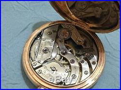 Vintage Patek Philippe Geneve in solid gold hunter case