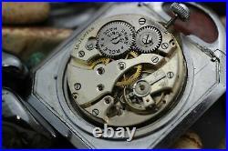 Vintage ROLEX Direct Read Digital Jump Hour Carriage Case Pocket Watch
