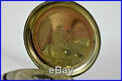 Vintage Swiss Made Orator Hebdomas 8 Days Pocket Watch 49.40mm Case LOT#1