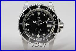 Vintage Tudor Submariner With case made By Rolex 76100 With Tritium
