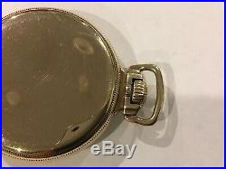 Vintage Waltham Crescent Street 21 jewel 16 size mainliner style case running