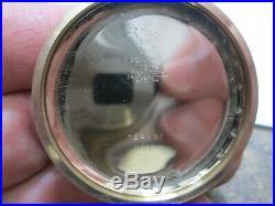 WALTHAM RIVERSIDE MAXIMUS 23J RAILROAD FANCY CASE MONGOMERY DIAL Pocket Watch