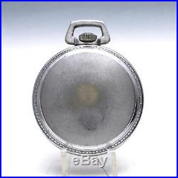 WWII Longines GCT 24 Hour US Army Air Corps Navigation Pocket Watch with A-9 Case