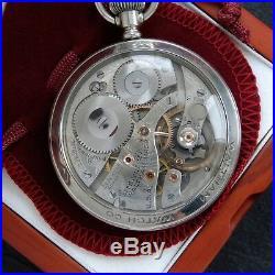 Waltham Crescent St. 21 Jewel Rare Travel Sales EXHIBITION Display Case Steel