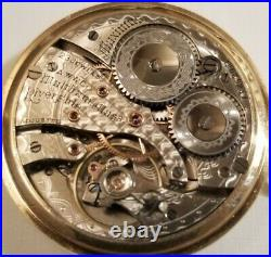 Waltham RARE Riverside maximus 12 size 23 jewel adjusted gold filled case(1903)