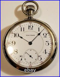 Waltham Scarce 17J. Adj. Grade 636 Gold timmed, only made 4500 display case 1910