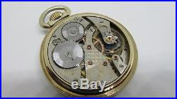 Waltham Vanguard 23J RR Railroad Watch Gold Filled Waltham Case Runs