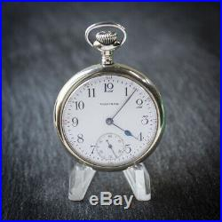 Waltham Vanguard 23j Display Case Pocket Watch