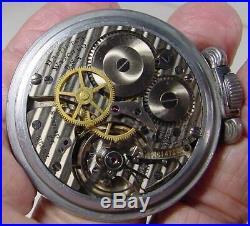 Wwii Usaaf Navigation Pocket Watch Hamilton 4992b G. C. T. 22 Jewel & Gimbal Case